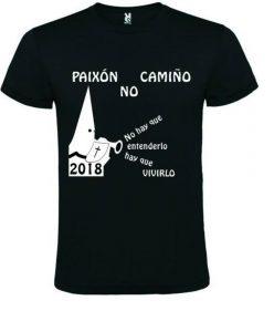 Camisetas Festival de bandas Paixón no Camiño 2018