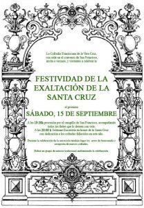 Festividad de exaltación de la Santa Cruz