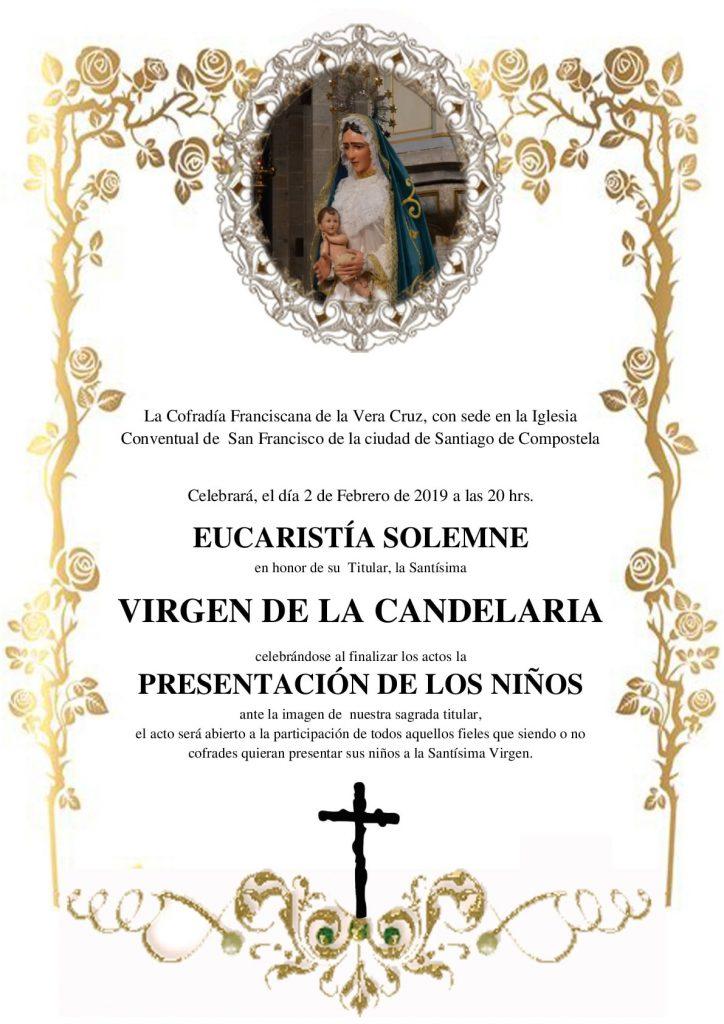 Festividad de nuestra Santísima Virgen de la Candelaria